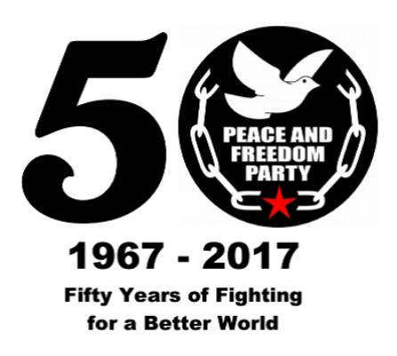 50 Years of PFP Logo